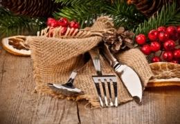 Un repas de Noël traditionnel à Montréal