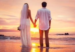 Shop bridal gowns in Toronto for your beach wedding