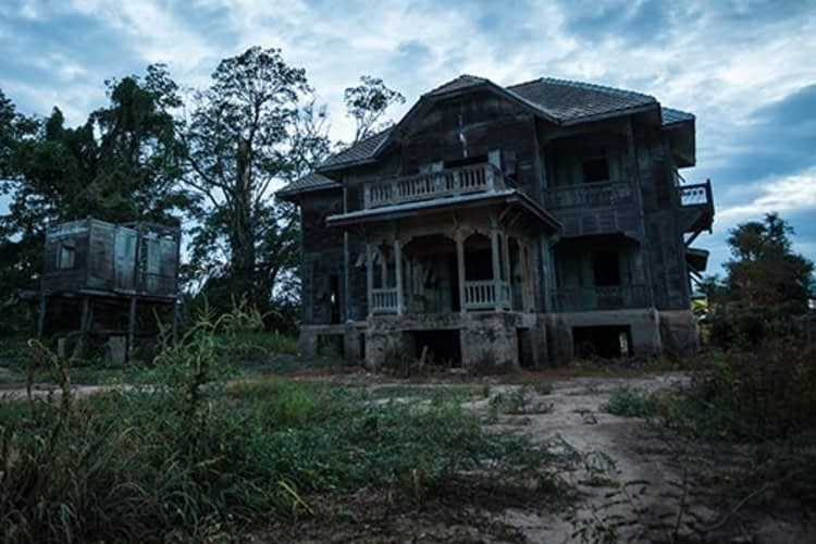 Haunted house? What you should do