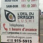 Oeil Du Dragon Sushi (Shannon) Inc - Sushi et restaurants japonais - 418-915-5915