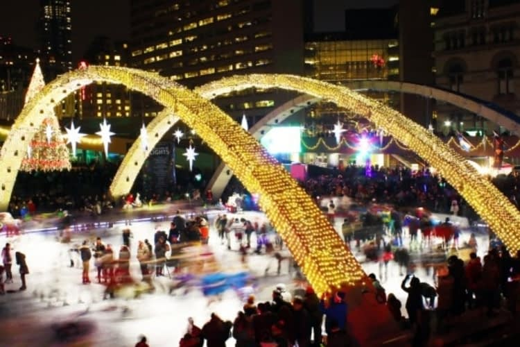 Where to ice skate in Toronto this winter
