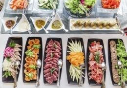 Feast on a bounteous brunch buffet in Toronto