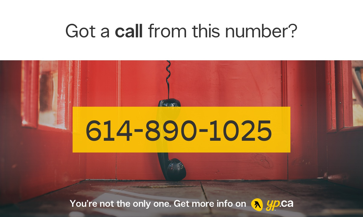 614-890-1025 | 16148901025 Who called from Westerville | YP CA