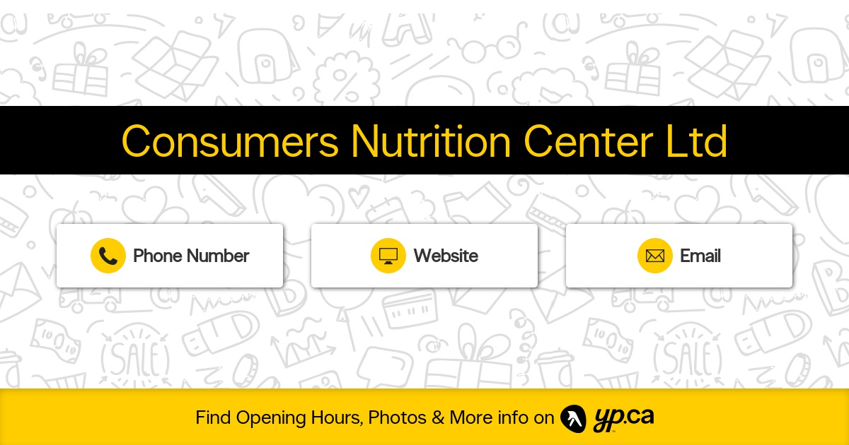 Consumers Nutrition Center Ltd - Vitamins & Food Supplements - Richmond