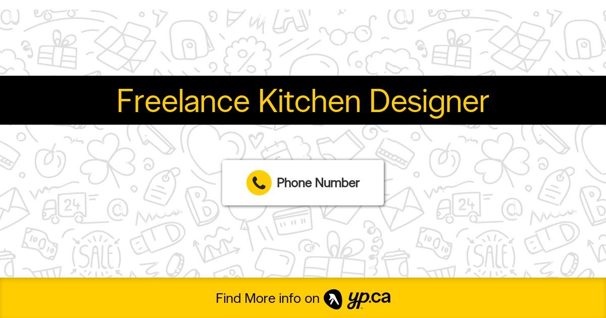 freelance kitchen designer on