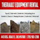 Theriault Equipment Rentals - Sand & Gravel - 705-983-2288