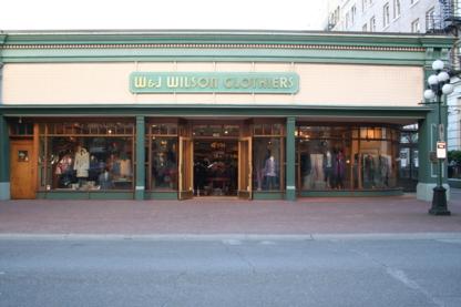 W & J Wilson Ltd - Women's Clothing Stores - 250-383-7177