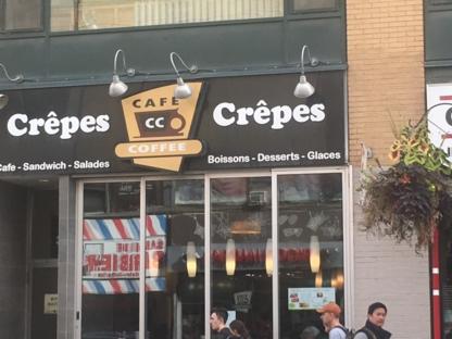 Café Et Crêpe CC LC Inc - Cafés - 514-875-2233