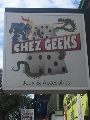 Chez Geeks - Games & Supplies