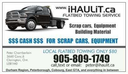 I Haul It.ca - Vehicle Towing