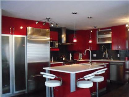 Ebénisterie Lac St-Jean Inc - Armoires de cuisine - 418-343-3487