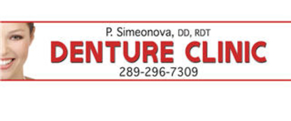 P Simeonova Denture Clinic - Denturists - 289-296-7309