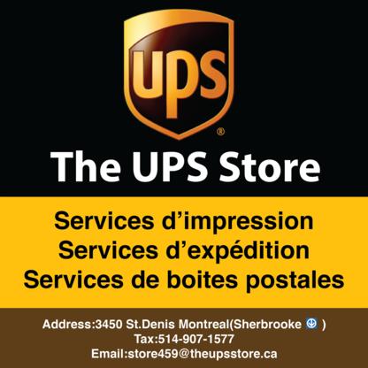 The UPS Store - Imprimeurs - 514-907-1577