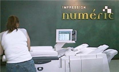 Impression Numéric - Imprimeurs - 418-628-2112