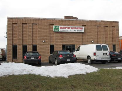 Brampton Auto Repair - Auto Repair Garages - 905-457-6710