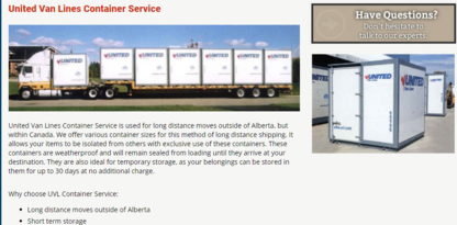 Associated Van Lines - Moving Services & Storage Facilities