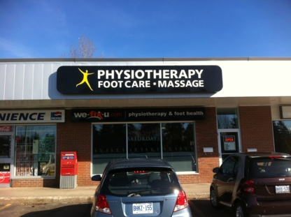 We-Fix-U Physio Foot Health Center - Physiotherapists - 905-885-0024