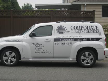 Corporate Cleaning Services Ltd - Nettoyage résidentiel, commercial et industriel - 604-465-4699