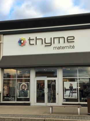 Thyme Maternité - Magasins de vêtements pour femmes - 450-445-2178
