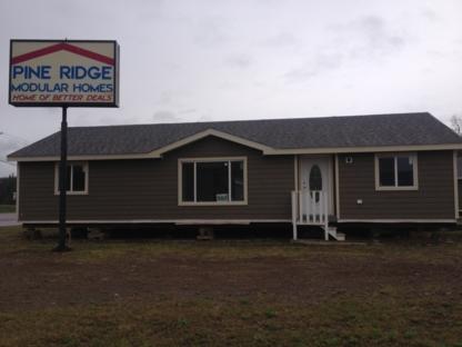 Pine Ridge Modular Homes Ltd - Transport de maisons mobiles
