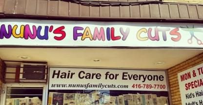 Nunu's Family Cuts - Hair Salons - 416-789-7700