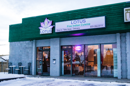 Lotus Indian Cusine & Bar Ltd - Fine Dining Restaurants - 403-284-9111