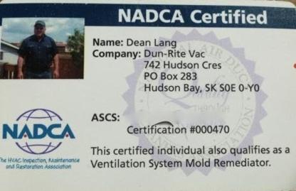 Dun-Rite Vac - Furnace Repair, Cleaning & Maintenance - 306-993-1551