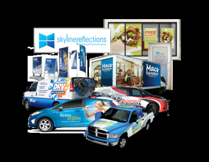 Skyline Reflections - Auto Glass & Windshields - 1-800-759-3895