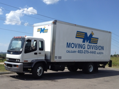 Monarch Messenger Services Ltd - Moving Equipment & Supplies