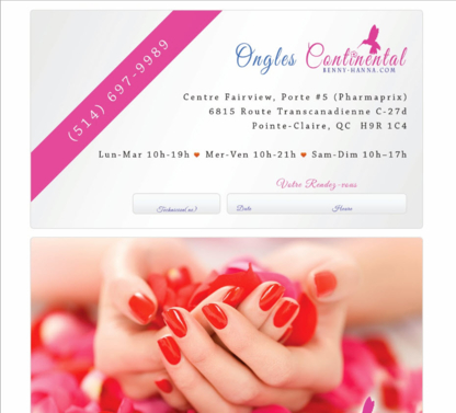 Ongles Continental Fairview - Nail Salons