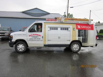 McLaughlin Roof Trusses Ltd - Garage Door Openers - 506-375-4105