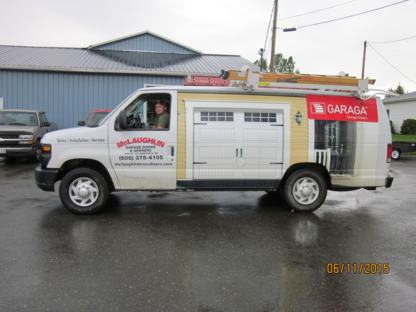 McLaughlin Roof Trusses Ltd - Overhead & Garage Doors - 506-375-4105
