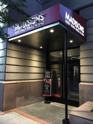 Madisons Restaurant & Bar - Restaurants - 613-695-6262
