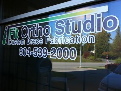 Fit Ortho Studio - Appareils orthopédiques - 604-539-2000