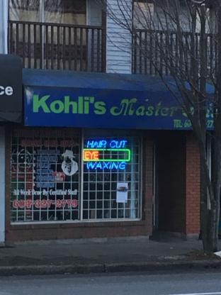 Kohli's Mastercuts & Hairstyle - Barbers - 604-327-2779