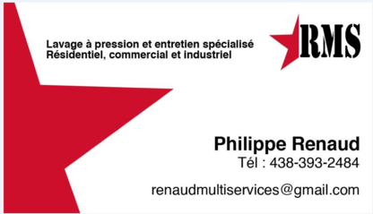 Renaud Multi-services - Home Cleaning - 438-393-2484