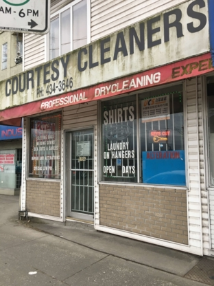Courtesy Cleaners - Dry Cleaners - 604-434-3646