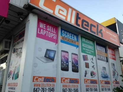 CellTeck - Wireless & Cell Phone Services - 647-707-6108