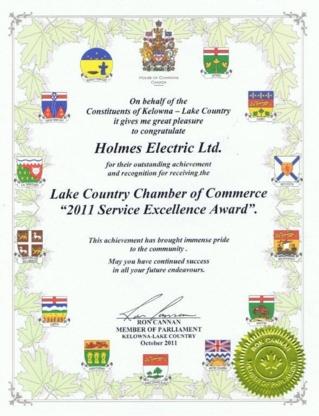 Holmes Electric Ltd - Lighting Equipment & Systems