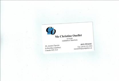 Me Christine Ouellet - Avocats en droit familial