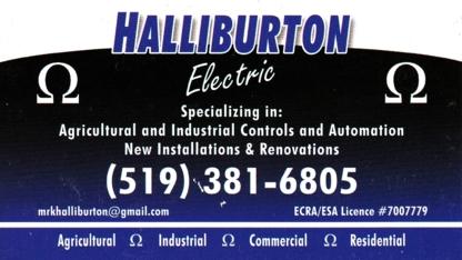 Halliburton Electric - Electricians & Electrical Contractors