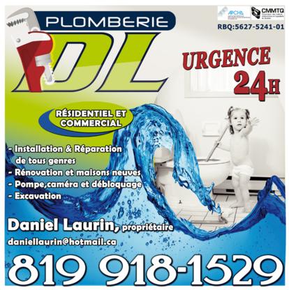 Plomberie DL - Plombiers et entrepreneurs en plomberie
