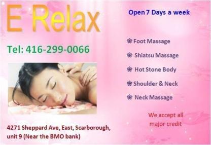E Relax Body MassageEasy Life Spa - Registered Massage Therapists - 416-299-0066