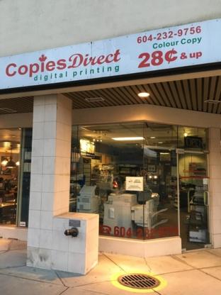 Digital Printing Copies Direct - Copying & Duplicating Service - 604-232-9756