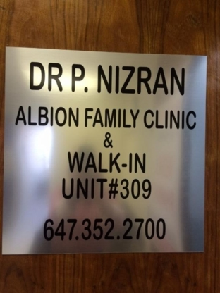 Dr Parminder Nizran Medicine - Medical Clinics - 647-352-2700