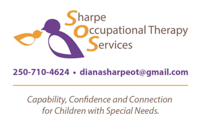 Sharpe Occupational Therapy Services - Occupational Therapists - 250-710-4624