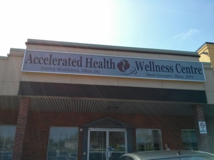Accelerated Health & Wellness Centre - Chiropractors DC - 289-897-9099