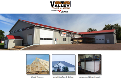 Valley Truss & Metal Ltd - Matériaux de revêtement - 902-836-3661