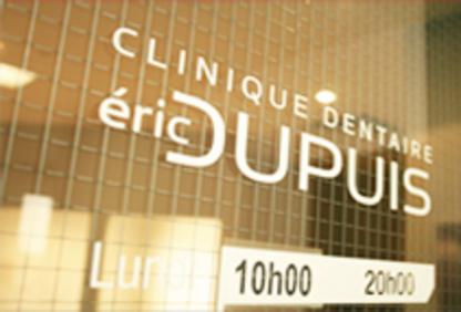 Clinique Dentaire Eric Dupuis - Traitement de blanchiment des dents - 450-759-3409