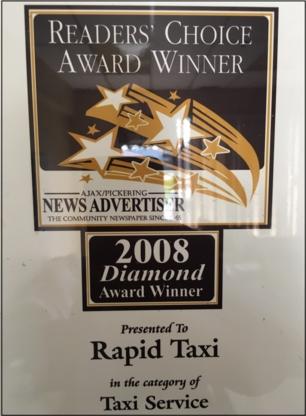 Durham Rapid Taxi Inc - Taxis - 905-831-2345